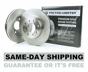 Friction Master R1403 Front Disc Brake Rotor Set - Pair of 2, Left and Right Sid