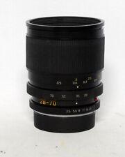 Leica Vario-Elmar R 28-70mm 1:3.5-4.5 MF E60 Zoom Lens 35mm SLR Film Non ROM