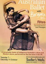 THE AUSTRALIAN BALLET Theatre Flyer Handbill