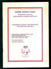 VIADA MARCO I CARABINIERI IN BASSO E ALTO MONFERRATO UNA STORIA DA RACCONTARE