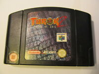 NINTENDO N64  TUROK SEEDS OF EVIL (2) TESTED (Nintendo NES, 1997) NUS-006(EUR)