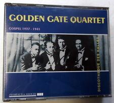 GOLDEN GATE QUARTET 2 CD Set GOSPEL 1937-1941 FRANCE Import GOSPEL KZcd133