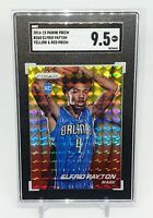 2014-15 Prizm Yellow Red Mosaic Prizms Elfrid Payton RC SGC 9.5 Rookie