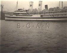 WWII German RP- German or Italian Navy- Red Cross Medical Hospital Ship- 1940s