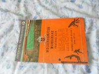 1959/60 EUROPEAN CUP WOLVES WOLVERHAMPTON WANDERERS V BARCELONA       E