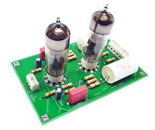 [GAUSS GOLD] PCB DIY KIT preamplificatore Valvolare SRPP 12/24V / Tube preamp