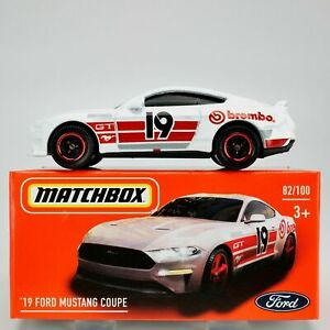 Matchbox 2019 FORD MUSTANG COUPE  Mint in Box