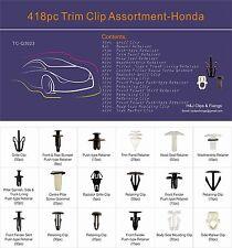 418 PC Recorte Clip Surtido de bandeja de coche Honda Box Set universal de uso general