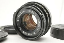 [EXC+5] Minolta M-Rokkor QF 40mm f/2 Lens For CLE CL Leica M Mount From Japan