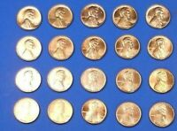 Lincoln Memor Cent Penny Set 1999-2008 PD Collection (20 Coins) Choice BU !