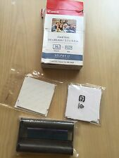 NEW CANON KC-36IP Color Ink / Paper Set BOX OPENED