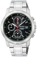 Seiko Chronograph 100m Stainless Steel Men's Watch SNDB03P1