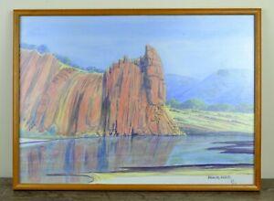Douglas Karwlpe Abbott Aboriginal Hermannsburg Australian Painting Watercolour