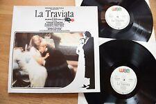Verdi la traviata bande sonore zeffirelli Levine stratas 2lp éolienne 25-0072-1