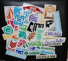 35+ skateboard sticker longboard decal pack snowboard deck vintage vinyl v1com