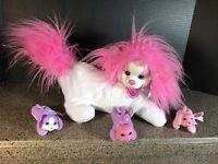 Puppy Surprise Mandy & her Pups Plush Doll * 3 babies puppies dog * Hasbro 2015