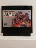 Romance of the Three Kingdoms II -Sangokushi 2- Nintendo Famicom - Japan Import