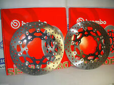 BMW F 650 2000 2001 Brembo Pair Brake Discs Floating Front