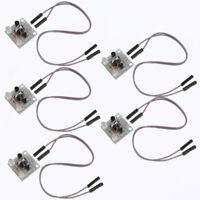 5pcs DIY Kit 5MM LED Simple Flash Light Simple flash Circuit Production Suite