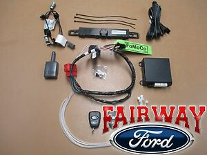 11 thru 16 Super Duty OEM Genuine Ford Parts Remote Start & Security System Kit