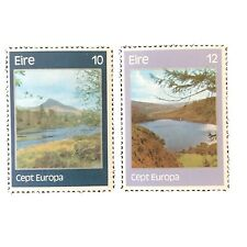 IRELAND, SCOTT # 413/414(2) 1977 VIEWS OF BALLYNAHINCH ISSUE & LUGALLA LAKE MNH
