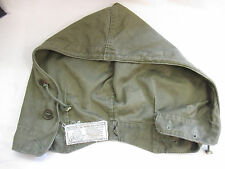 Original WWII Green Army Hood for Jacket Field M-1943