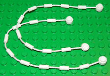 LEGO Spiderman - String Web with End Studs / Spider Web - White (X2)