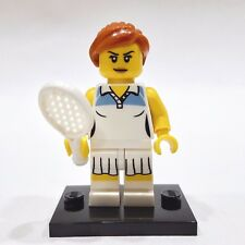 """LEGO Collectible Minifigure #8803 Series 3 """"TENNIS PLAYER"""" (Complete)"""