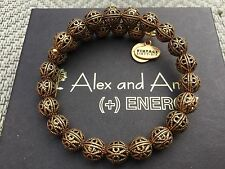 NEW ALEX and ANI VINTAGE 66 KINGSTON Russian GOLD BEADED Wrap BRACELET