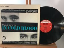 QUINCY JONES IN COLD BLOOD OST COLGEMS COS107 USA 1967 NM/NM