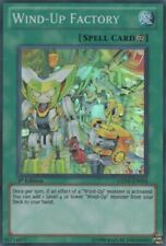 1x YuGiOh Wind-Up Factory - GENF-EN054 - Super Rare - 1st Edition Lightly Played