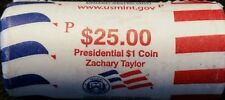 "2009 P Zachary Taylor Presidential ""Unopened"" Mint Dollar 25 Coin ROLL"