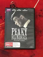 Peaky Blinders Season 3 S3 R4 DVD BBC History British Crime Like New