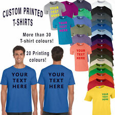 Fruit of the Loom Polycotton Personalised T-Shirts for Men