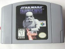 Nintendo 64 1996 Game Pak Pack Star Wars Shadows Of The Empire
