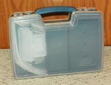 Plano - 2 Sided Tackle Box (11 x 8 x 3) - Dark Blue / Clear