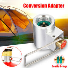 Gas Conversion Adapter Camping Gas Stove Convertor Valve Canister Shifter Refill