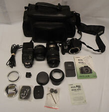 Canon Rebel XTI EOS Digital Camera with EF-S 75mm 300mm + extras