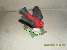Lenox Garden Bird Collection Scarlet Tanager No Box