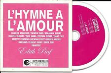 CD CARTONNE HYMNE A L'AMOUR 2T AZNAVOUR/BIOLAY/EICHER/LEROY/PAGNY/BOULAY/MACIAS