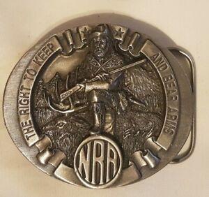 Vintage Buckle Gürtelschliesse/ NRA, National Rifle Ass. /  Bergamot / USA  1995