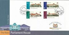 Singapore  1999 The New Parliament House, Complete 4V on FDC