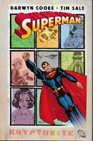 Superman: Kryptonite by Darwyn Cooke & Tim Sale 2008 TPB 1st Print DC Comics OOP