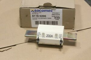 NEUF : 1X Socomec 81150200 Fusible industriel EDF T2 - 200A 440V 115mm
