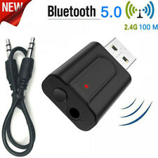 USB Wireless Bluetooth 5.0 Audio Music Adapter Dongle Receiver for TV Laptop PC