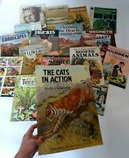 Vtg Art Book Lot Walter Foster How to Draw & Paint Landscape Animal Robert Wood