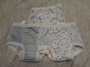 Gerber Training Pants Underwear Padded Size 2T