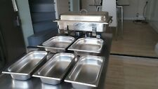 More details for milan stainless steel chafing dish set / party / bbq / restaurant catering