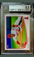 2013 TOPPS MIKE TROUT #27 BGS 8.5 9 Subs PSA 9 ? ANAHEIM ANGELS RC CUP GRADED 🔥