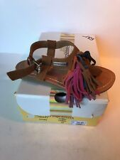 chaussure Fille LES TROPEZIENNES GORBY CAMEL taille 30 neuve N°189